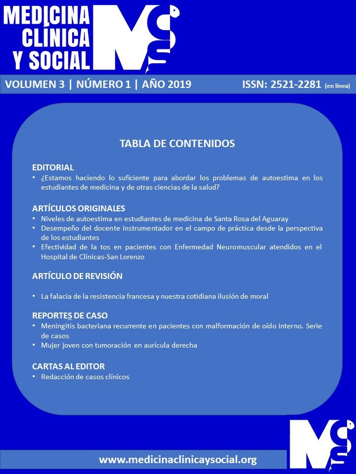 Ver Vol. 3 Núm. 1 (2019): ENERO-ABRIL